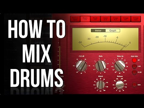 Part 2: EQ and Compression | HOW TO MIX DRUMS