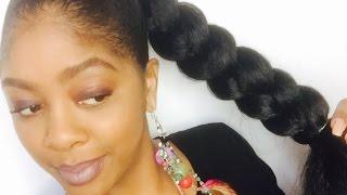 How To: Jumbo Braid Ponytail with Kanekalon Hair