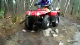 10. 2006 Yamaha Big Bear 400 4x4 ATV Suspension Test