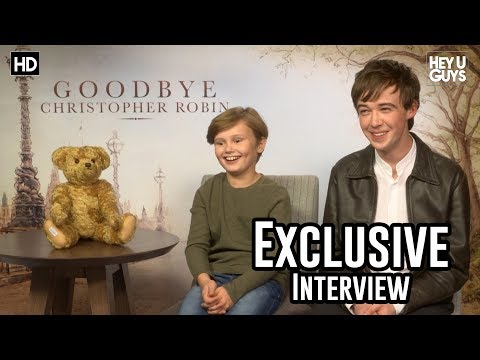 Will Tilston & Alex Lawther - Goodbye Christopher Robin Exclusive Interview