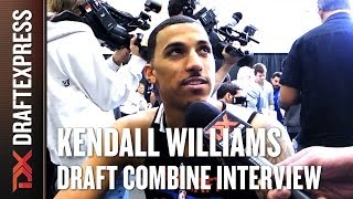 Kendall Williams Draft Combine Interview