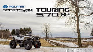 4. ESSAI Polaris Sportsman Touring 570 2017