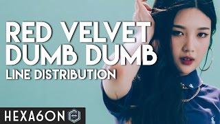 Video Red Velvet - Dumb Dumb Line Distribution (Color Coded) MP3, 3GP, MP4, WEBM, AVI, FLV Maret 2018