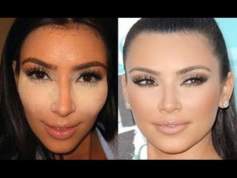 HOW TO: KIM KARDASHIAN CONCEALER/CONTOURING TUTORIAL - OLD SCHOOL DRAG TRICK!