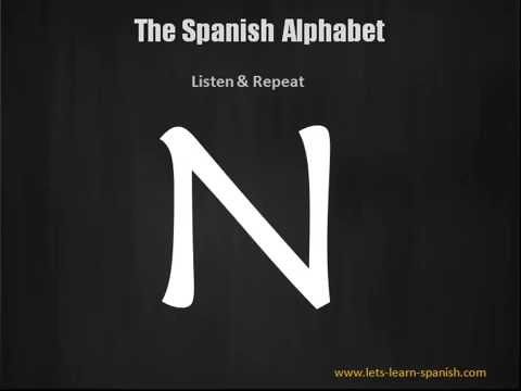 Learn The Spanish Alphabet