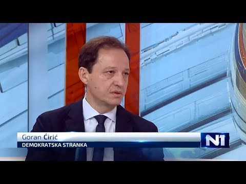 Горан Ћирић у емисији Нови дан на ТВ Н1 (24.8.2017)