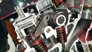 10. Honda Africa Twin 2016 Engine DCT EICMA