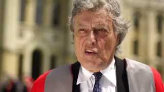 Tom Stoppard at Oxford -- Encaenia 2013