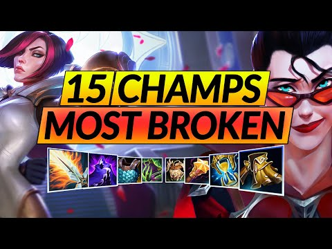 15 BROKEN CHAMPIONS with the NEW Mythic Items in Patch 10.23 - MAIN These Picks - LoL Guide