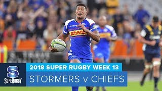 Stormers v Chiefs Rd.13 2018 Super rugby video highlights