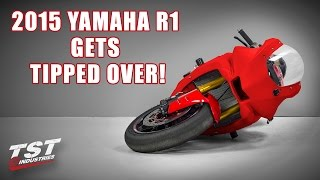 7. 2015+ Yamaha YZF R1 gets tipped over! by TST Industries