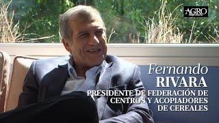 Fernando Rivara - Pdte. de Federación de Centros y Acopiadores de Cereales