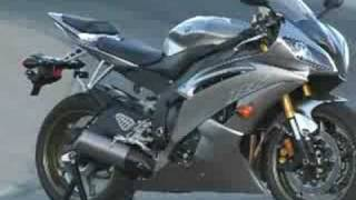 9. 2008 Yamaha R6 Motorcycle Review - First Ride - Part 1