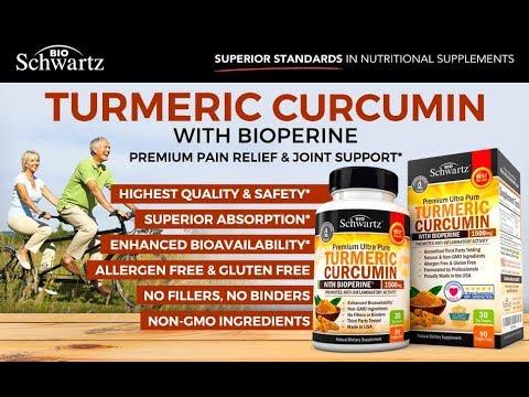 Turmeric Curcumin★ with Bioperine 1500mg  Highest Potency Available★