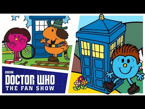 Doctor Who: The Fan Show Meets Mr. Men!