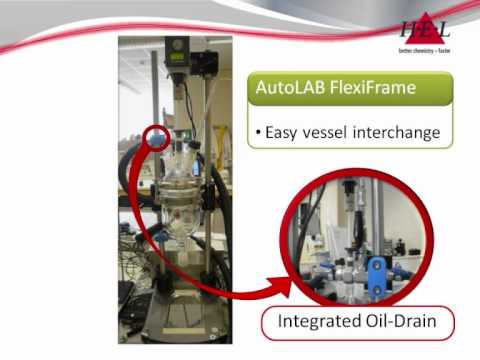 Controlled stirred chemical reactors for research & pilot scale applications - HEL AutoLAB