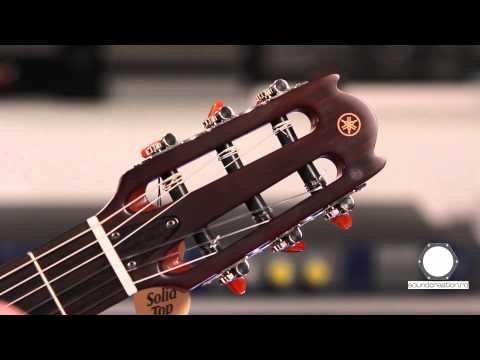 Yamaha NTX 700 electro-clasica (видео)