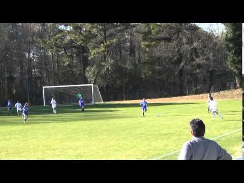 Hannah Shute #11 Goals & Highlights vs. Paideia Pythons - 03/26/2014