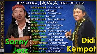 Video [2in1] Didi Kempot & Sonny Josz - Tembang Jawa Terpopuler - HQ Audio!!! MP3, 3GP, MP4, WEBM, AVI, FLV Maret 2019