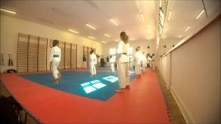 Time Lapse Karate Training