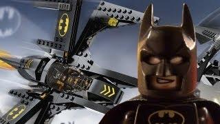 Lego Batman Batwing Timelapse