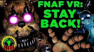 FNAF VR - He's Getting Closer! | Five Nights At Freddy's VR: Help Wanted (Part 5)