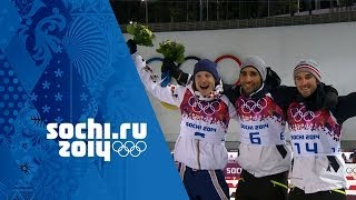Daily Report - Highlights of the Men's Biathlon 12.5km Pursuit from the Laura Biathlon Stadium as France's Martin Fourcade wins ...