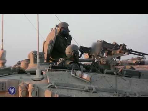 Les tanks de Tsahal détruisent un tunnel terroriste à Gaza