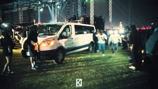 Kanye West and Tyler The Creator Foot Race At Coachella 2016