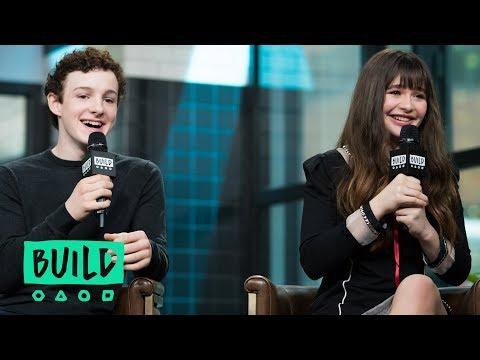 "Malina Weissman & Louis Hynes On Netflix's ""A Series of Unfortunate Events"""