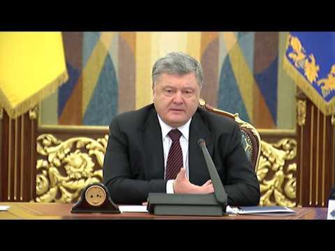 Президент: Учасники «блокади» на Сході своїми діями в першу чергу шкодять державі