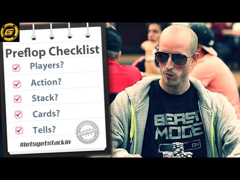 How to Win at Poker – The Preflop Checklist