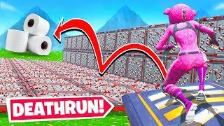 TOILET PAPER Death RUN *NEW* Game Mode in Fortnite Battle Royale