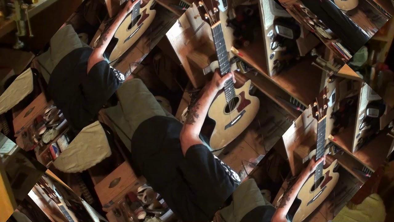 taylor 714ce acoustic guitar phantom buzz finally found & fixed!