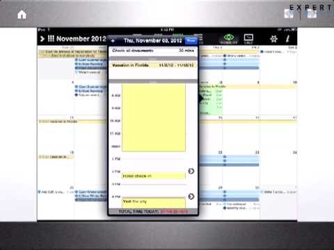 Тайм-менеджмент с iPad от Людмилы Богуш-Данд