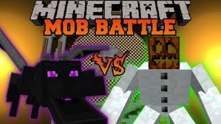 ENDER DRAGON VS. MUTANT SNOW GOLEM - Minecraft Mob Battles - Mutant Creatures Mod Battle