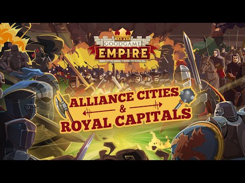 Goodgame Empire — Alliance Cities Preview