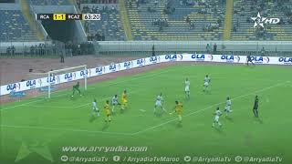 الرجاء الرياضي 1-2 نهضة زمامرة هدف جواد غبرة في الدقيقة 64.