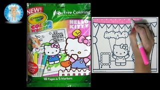 Crayola Color Wonder HELLO KITTY Coloring Book Puppet Marionette Mouse - Family Toy Report