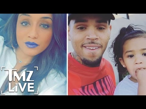 Chris Brown Destroys Baby Mama | TMZ Live