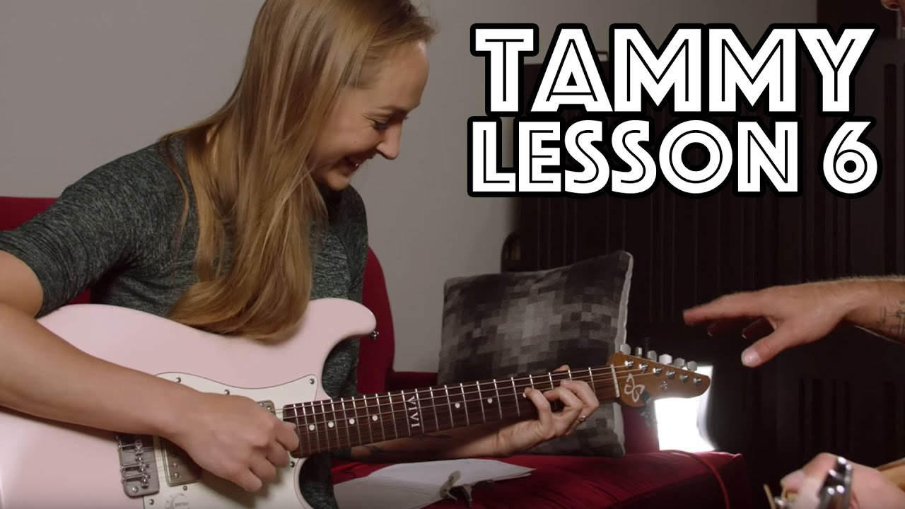 Tammy Guitar Lesson 6: Exploring Scales, Exploring Chords and Exploring Capos… and more!