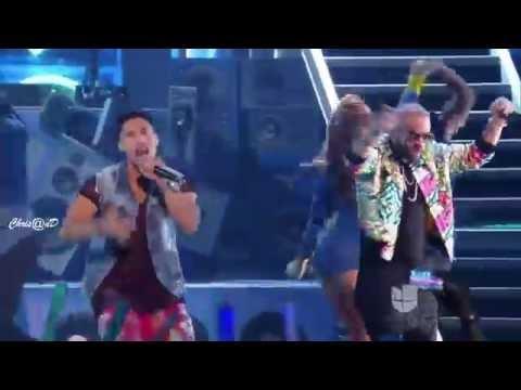 Chino y Nacho Ft Daddy Yankee Andas En Mi Cabeza, shaky shaky (Premios  Juventud 2016)
