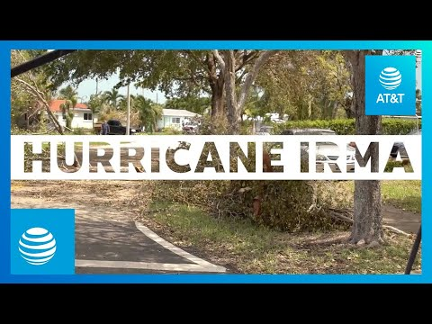 AT&T Employees Help Rebuild Southeast Network After Hurricane Irma