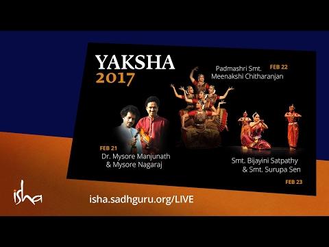 Yaksha 2017 - Feb 23 - Smt. Bijayini Satpathy & Smt. Surupa Sen