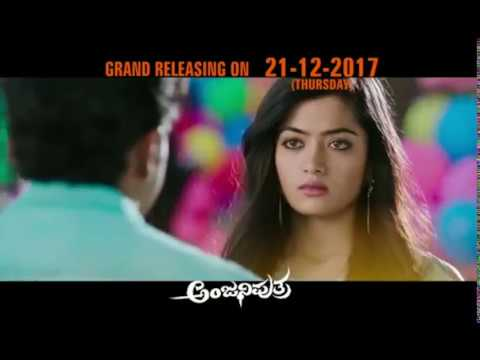 Video Anjaniputra official's 2nd Trailer Punithrajkumar   YouTube 720p download in MP3, 3GP, MP4, WEBM, AVI, FLV January 2017
