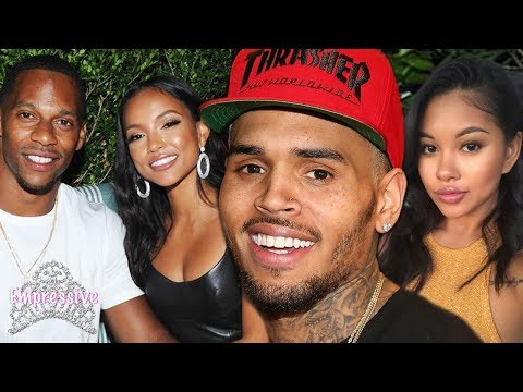 Chris Brown is still stalking his EX Karrueche...while his new girl is pregnant!