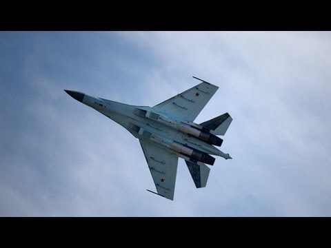 Video: Unique Sukhoi Su-35 'UFO' fighter rocks Paris Air Show