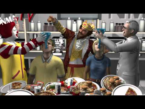 NMATV - Next Media Animation has been gradually adding newer more realistic models ever since our Tiger Woods animation went viral. Now we have our own very obese mo...