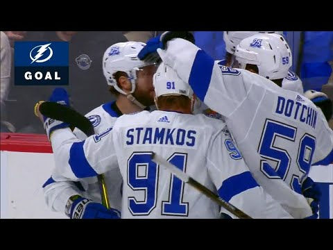 Video: Lightning score four goals in just over four minutes against Avalanche