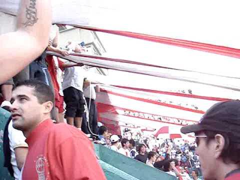 Banfield vs huracan - fecha 17 - clausura 2010 Ii.MPG - La Banda de la Quema - Huracán